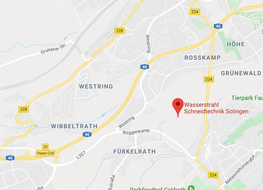 Wasserstrahl+Schneidtechnik+Solingen